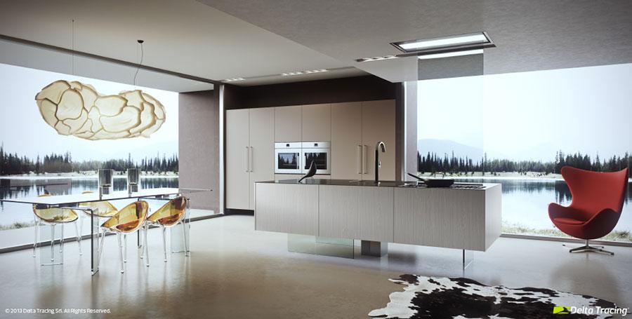 Se la metratura lo consente, la cucina ad isola, con piano lavoro rivolto verso il soggiorno, è la soluzione più indicata per l'open. Cucina Open Space Con Isola 38 Idee Di Design Alle Quali Ispirarsi Mondodesign It