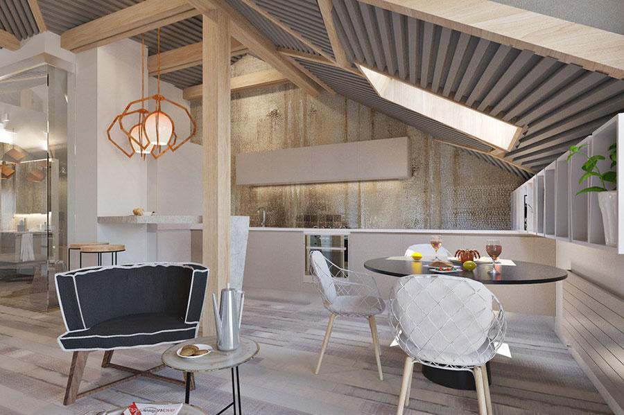 L'arredamento stile contemporaneo è perfetto per decorare ogni ambiente della casa: Idee Per Arredare Una Casa Piccola In Stile Moderno Mondodesign It