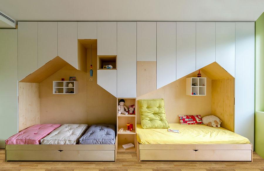 Le camerette per bambini sono il luogo in cui i vostri figli crescono,. Camerette Con Due Letti A Terra Tante Idee Di Arredo Originali Mondodesign It