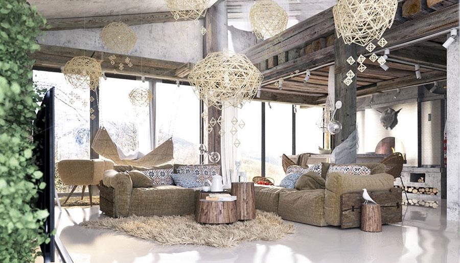 Interni case al mare camere da letto; Come Arredare Una Casa In Stile Shabby Chic Ecco 4 Progetti Originali Mondodesign It