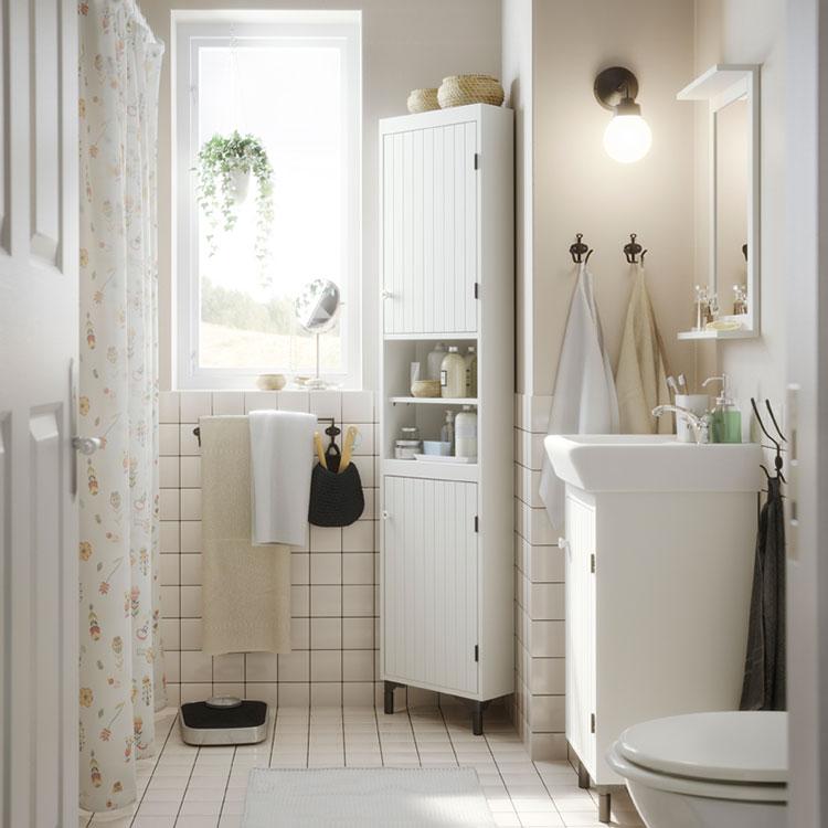 Arredo bagno ikea, tutte le novità. 10 Idee Per Arredare Un Bagno Shabby Chic Ikea Mondodesign It