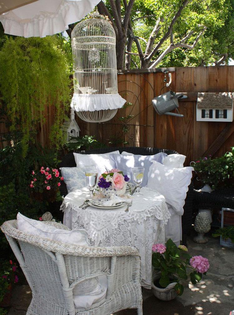 Idee Per Giardino Rustico