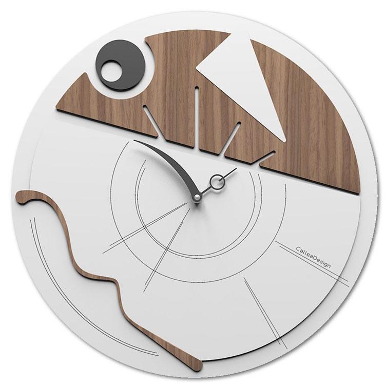 Arti e mestieri orologio da muro moderno karma. Orologi Da Parete Moderni Di Design Mondodesign It