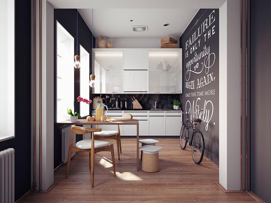 35 Idee per Colori di Pareti di Cucine Moderne