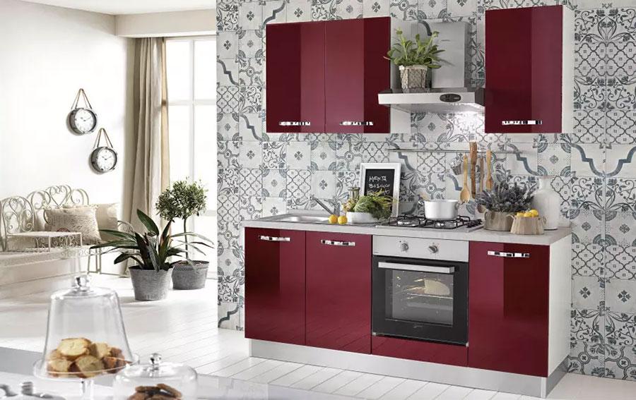 Cucina 2 Metri Lineari.Cucina 5 Metri Lineare Tendenze Arredamento Casa 2017