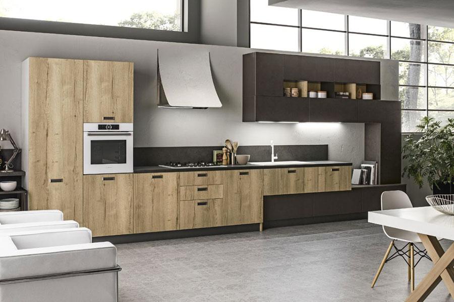 Cucina Lineare Moderna 35 Modelli delle Migliori Marche