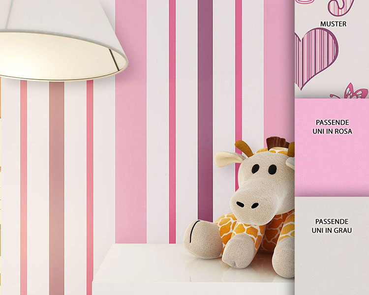 Le righe regalano vitalità e colore alle pareti e, aspetto molto. Carta Da Parati A Righe 35 Modelli In Vendita Online Mondodesign It
