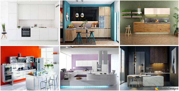 Per scegliere un contrasto, puoi utilizzare la gamma di combinazioni di colori. 35 Idee Per Colori Di Pareti Di Cucine Moderne Mondodesign It