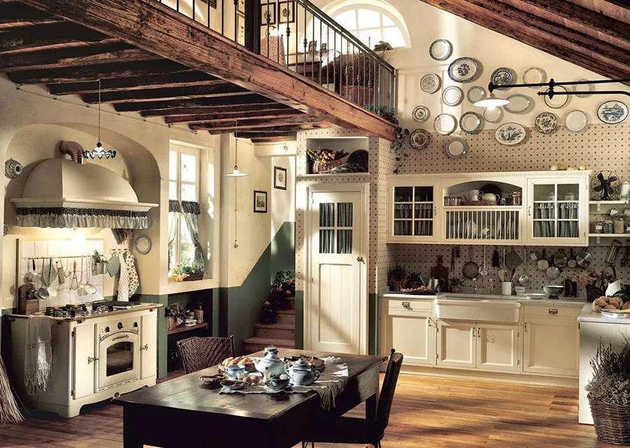 Ma quali sono i colori più adatti per imbiancare una cucina country rustica? Cucina Rustica 30 Meravigliose Idee Di Arredamento Mondodesign It