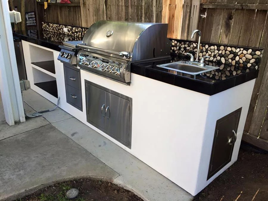 Cucine in Muratura da Esterno 35 Idee a Cui Ispirarsi