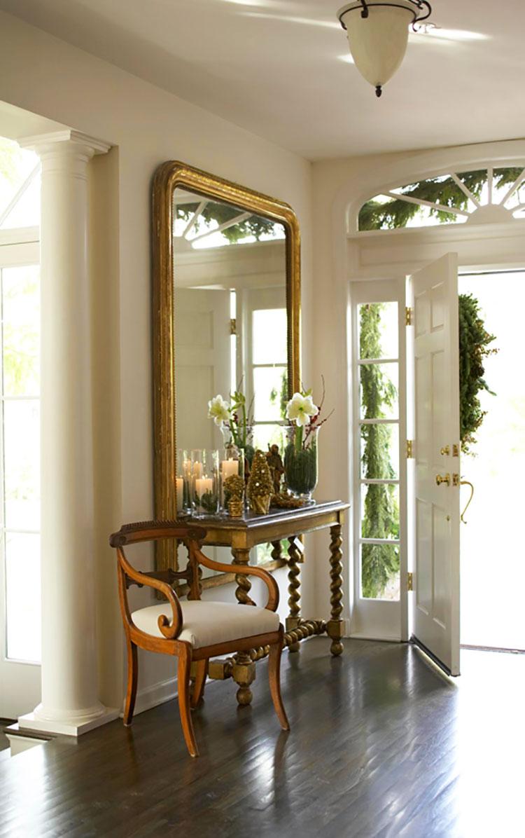Progettare lo spazio all'entrata di casa può rivelarsi un gioco creativo e ricco di soddisfazioni: 50 Idee Per Arredare Un Ingresso Classico Ed Elegante Mondodesign It