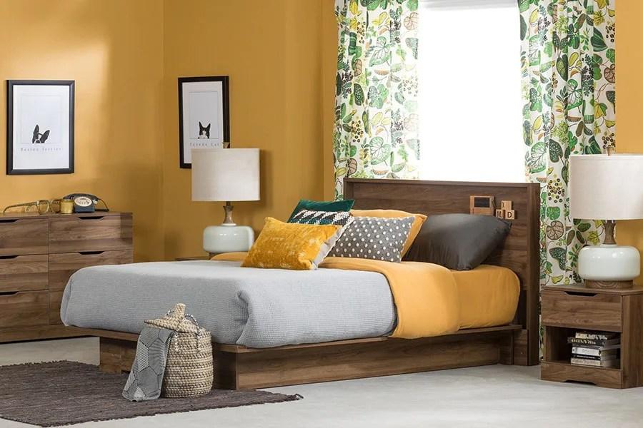 Quale abbinamento colori pareti camera da letto scegli. 27 Idee Di Colore Per Pareti Per Camera Da Letto Con Mobili Scuri Mondodesign It