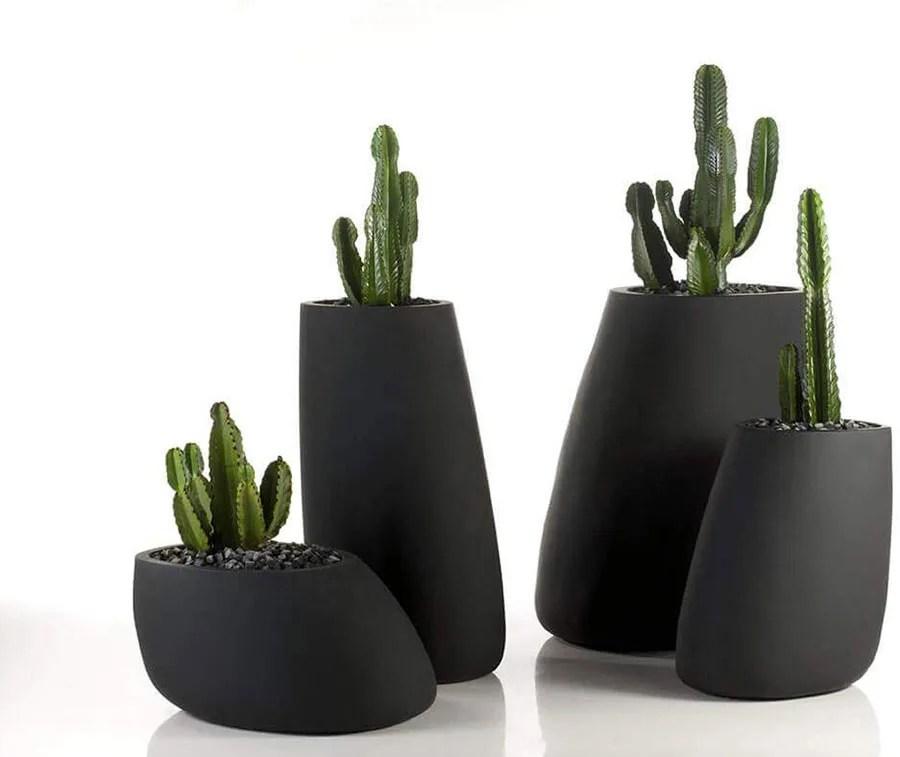 Zhangcheng vaso decorativo di design angolato moderno ornamento stile nordico ceramica vaso decorativi vasi moderni da interno in ceramica vaso semplice e. 30 Stupendi Vasi Per Piante Da Interno Mondodesign It