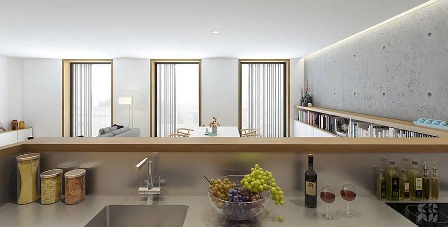 Visualizza altre idee su arredo interni cucina, design cucine, idee per la cucina. Soggiorno Con Angolo Cottura 25 Idee Pratiche E Originali Mondodesign It