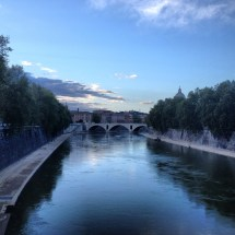Ponte Principe Amedeo from far