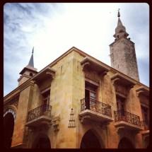 Al Omari mosque in Beirut doowntown