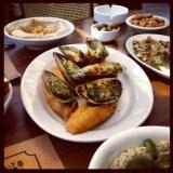 Fresh mussels at Bab el Mina restaurant , Byblos