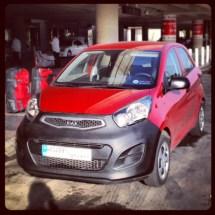 Our super Kia Picanto rental car