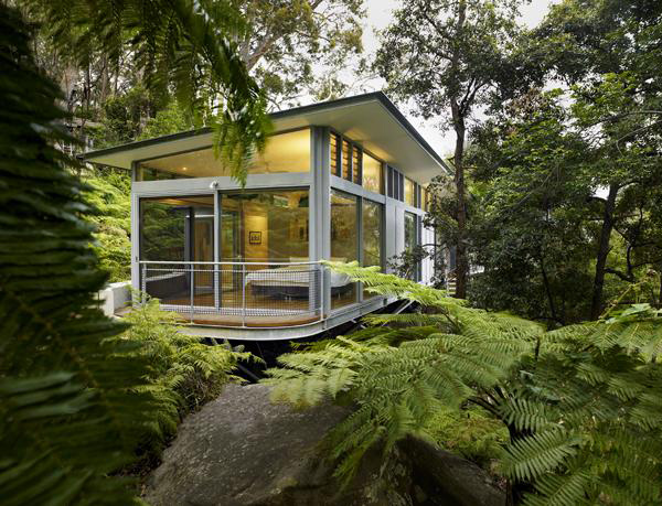 Steel  Glass House