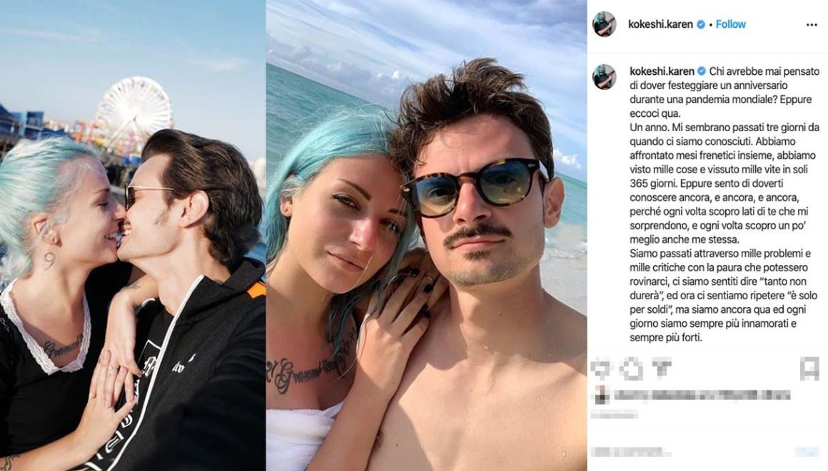 Karen Kokeshi e Fabio Rovazzi