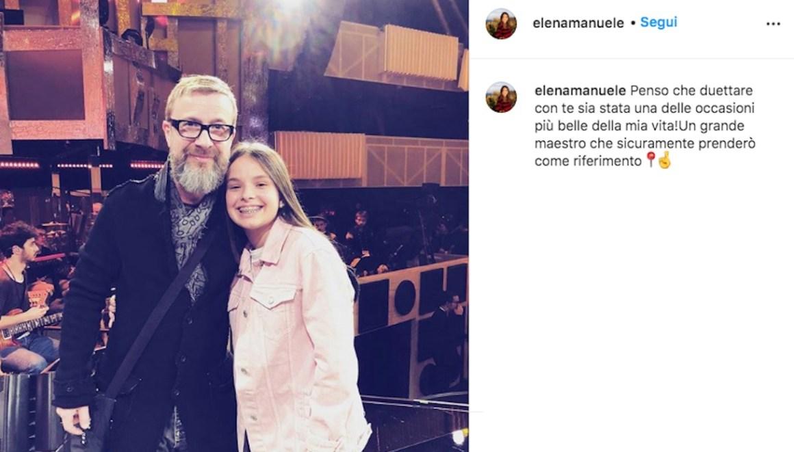 Elena Manuele e Marco Masini