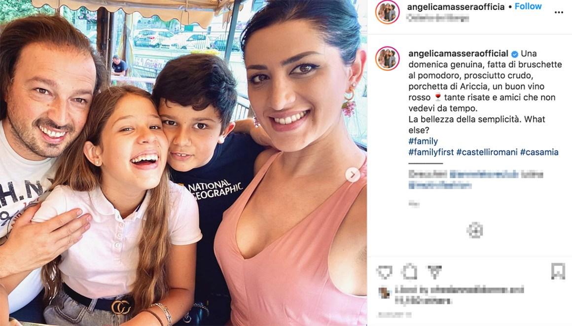 La famiglia di Angelica Massera