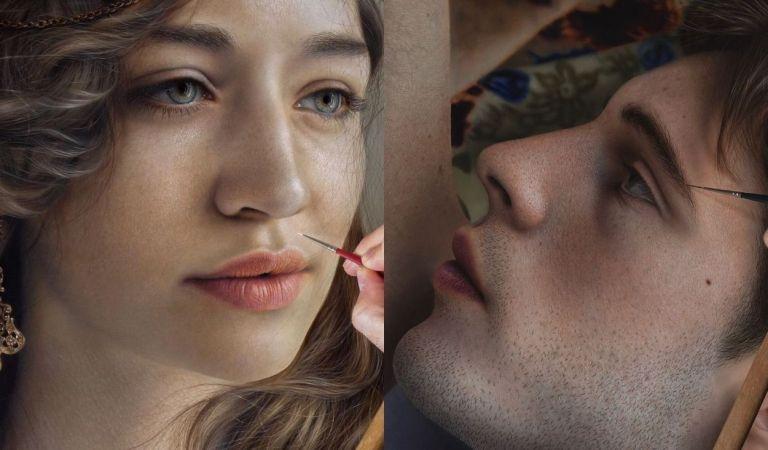 Chi è Marco Grassi, il pittore che fa vivere i quadri su Instagram