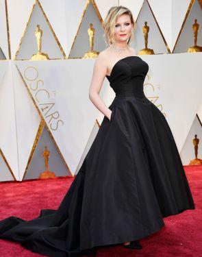 Oscar 2017 Kirsten Dunst veste Christian Dior Haute Couture @ Getty