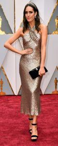 Oscar 2017 Louise Roe veste Pronovias @ Getty