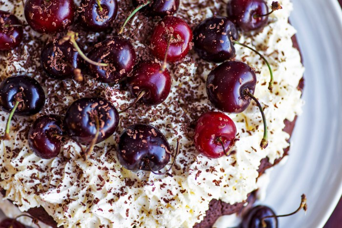 Small Chocolate Cake Recipe Jamie Oliver: Black Forest Cake From Jamie Oliver Comfort Food