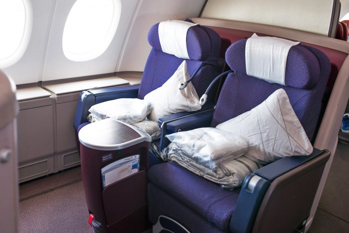 Flying Business Class with Malaysia Airlines