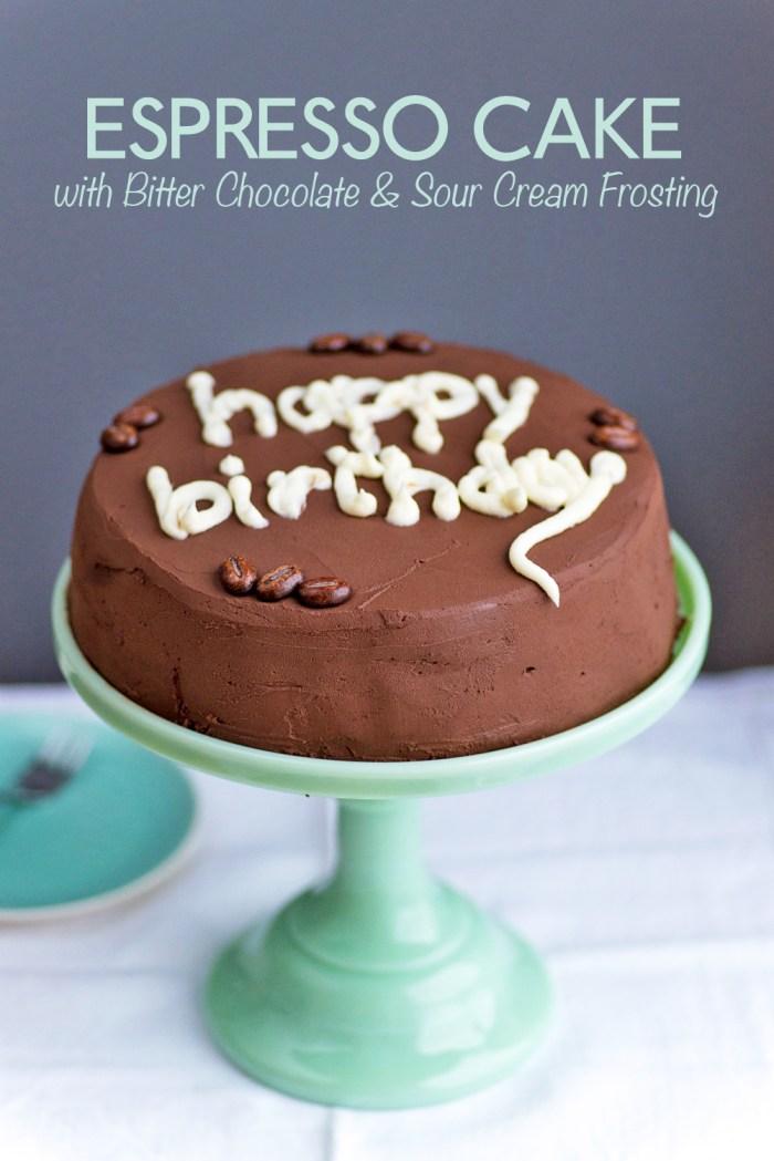 Chocolate Sour Cream Cake Smitten Kitchen