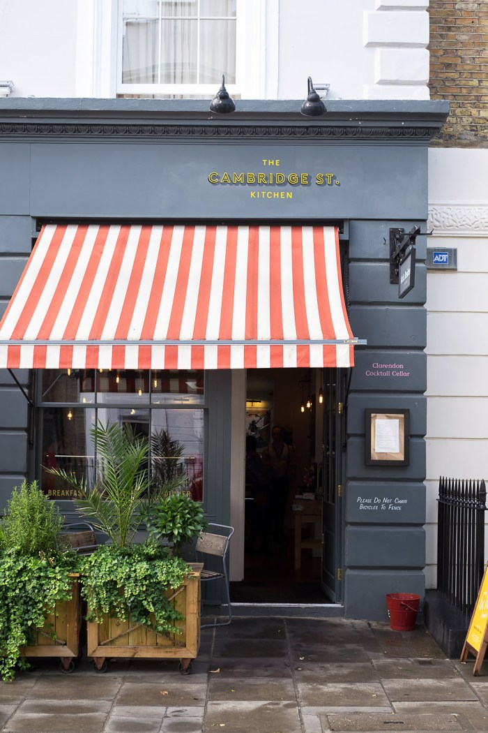 Brunch at Cambridge Street Kitchen, Pimlico