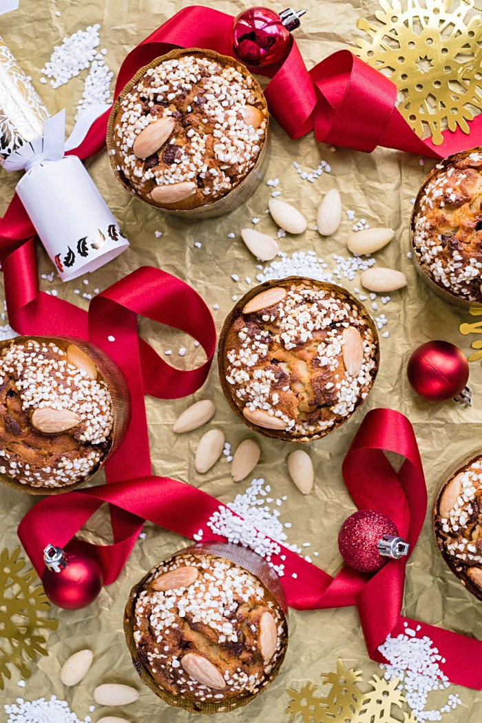 Easy and delicious mini panettone christmas cake recipe - Make delicious sweet bread christmas ...