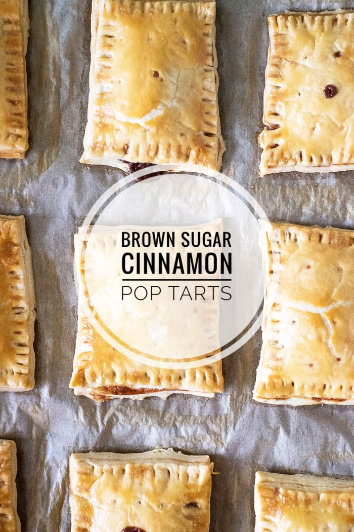 Homemade Brown Sugar Cinnamon Pop Tarts Recipe