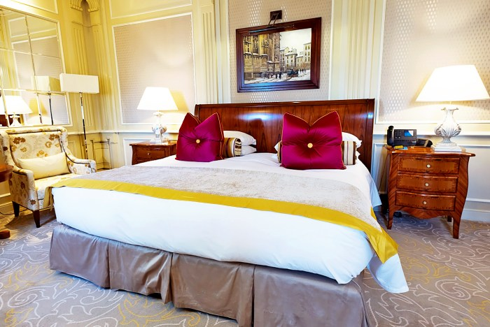 The Classic Room at Five Star Hotel Principe di Savoia, Milan. Dorchester Collection.