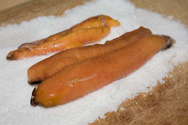 Bottarga fatta in casa
