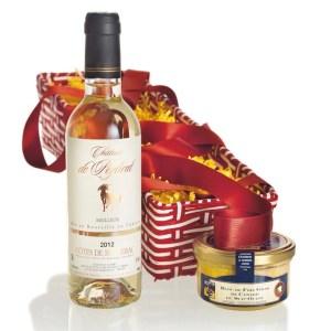 Foie gras gift basket