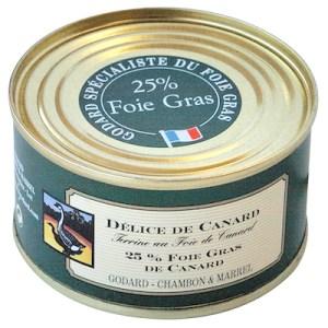 Duck terrine 25% foie gras