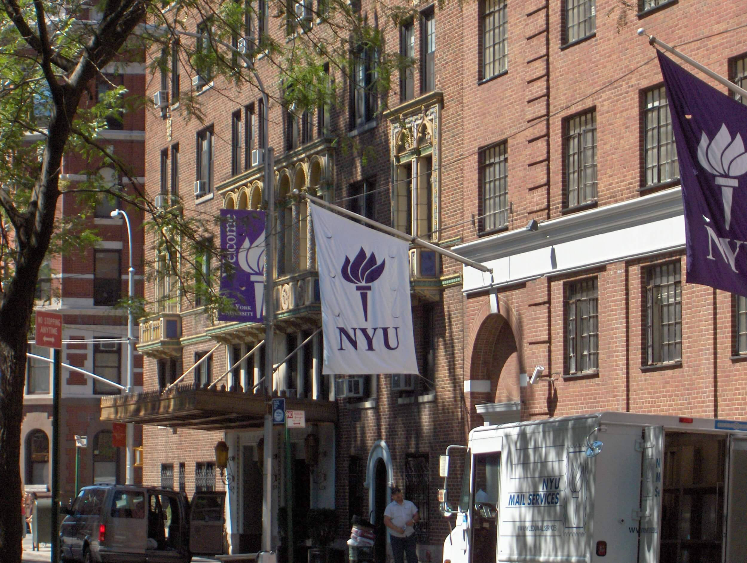 A New York University building. (Photo: Wikimedia Commons)