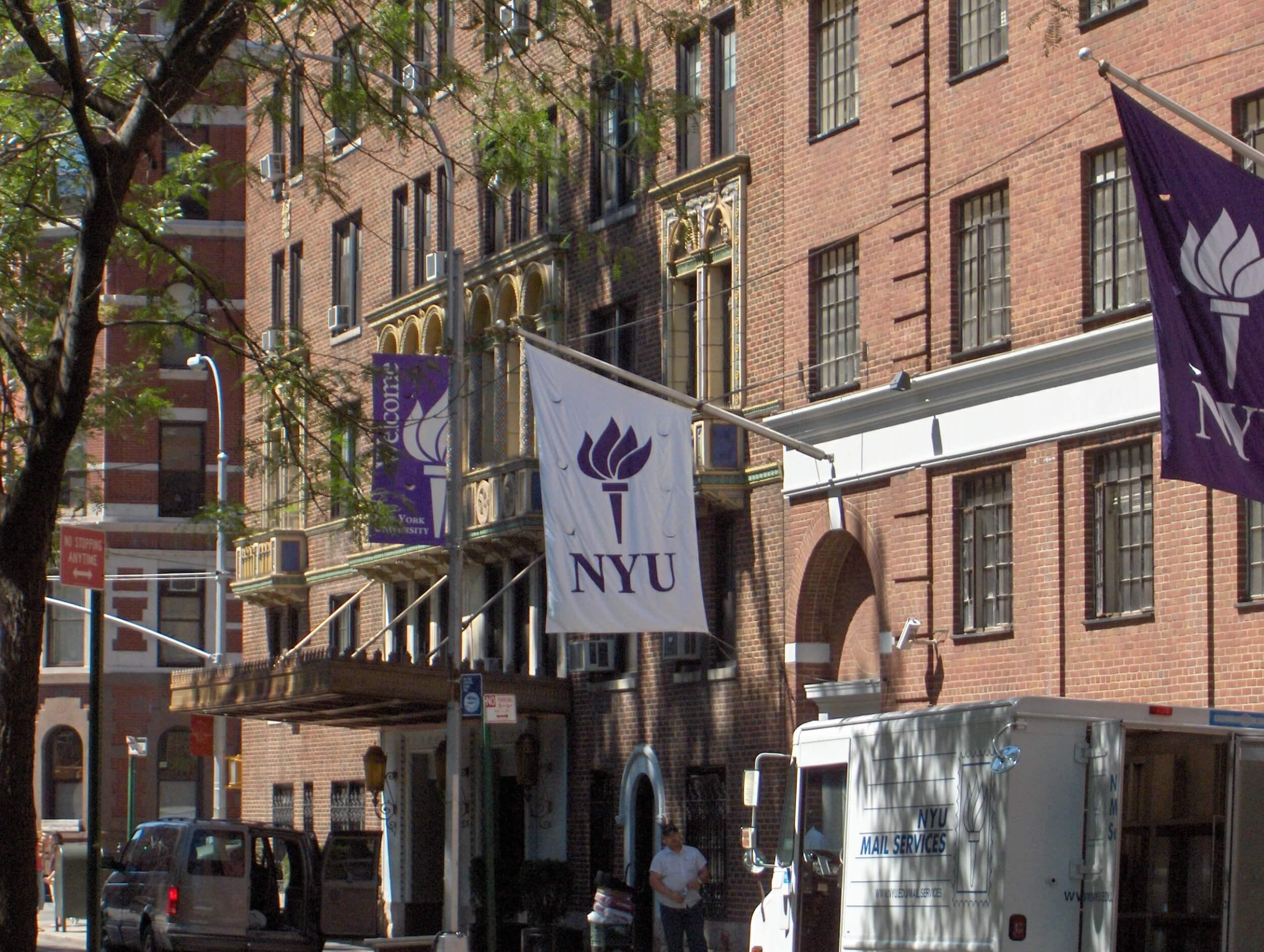 A New York University building. (Photo: Wikimedia Commons)
