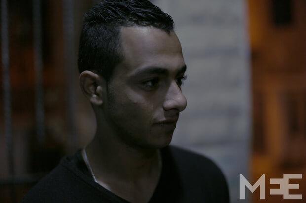 Yazan Ikhlayel speaks to MEE (MEE/Abed al-Qaisi)
