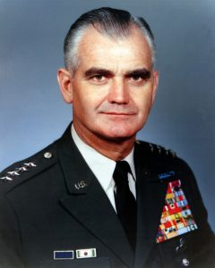 Official photo of Army Chief of Staff GEN William C. Westmoreland. Exact Date Shot Unknown