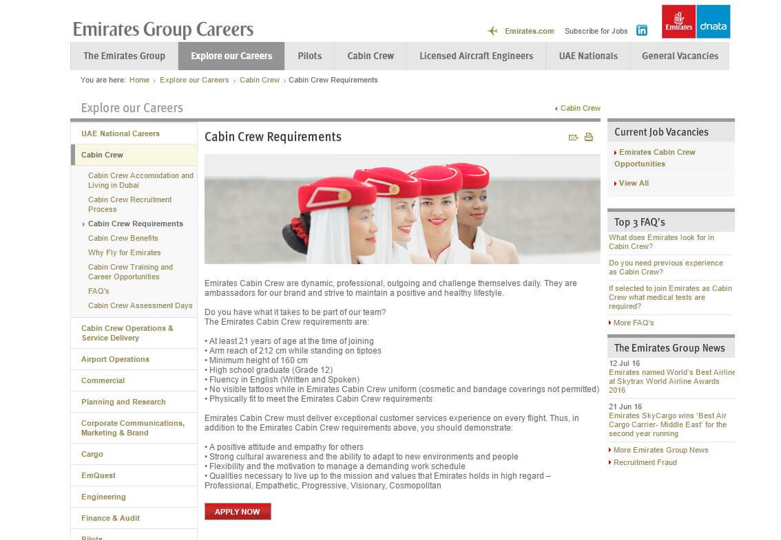 cv personal statement examples cabin crew