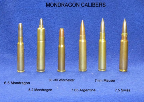 Ammunition – Mondragon Rifle