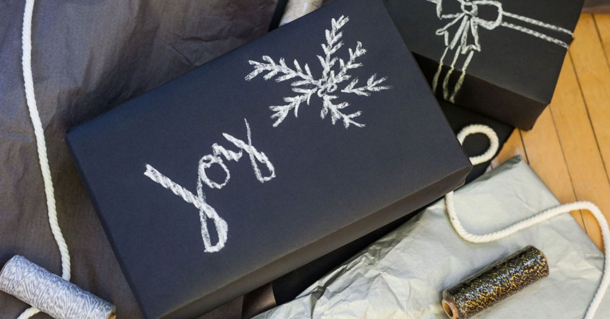 15 cool wrapping papers