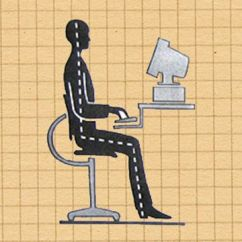 Office Chair You Sit Backwards Swing Desk 7 Simple Ways To Improve Your Posture At Work