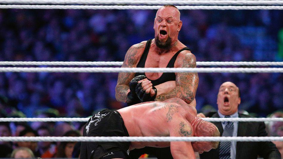 the undertaker rises at