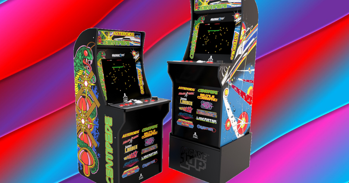 The Arcade1up Deluxe Has 12 Retro Games And Is 100 Off At