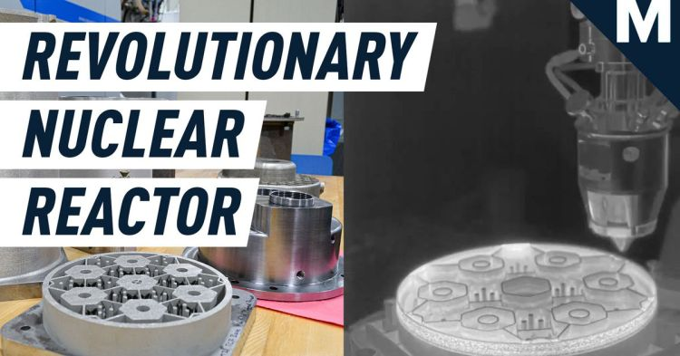 3D printed nuclear reactors core - Road-to-Singularity